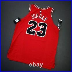 100% Authentic Michael Jordan Nike Bulls Jersey Size 52 XL Mens Boxed