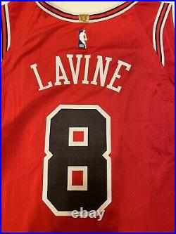 100% Authentic Nike Chicago Bulls Zach Lavine #8 Jersey SZ 48(L) AV2627-657