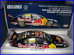 118 CLASSIC Lowndes/Luff #888 Holden VF Commodore RedBull 10 Yrs Aus Book 18541
