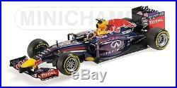 118 Minichamps 2014 Infiniti Red Bull RB10 Daniel Ricciardo
