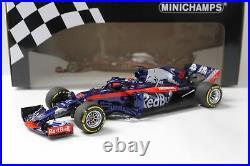 118 Minichamps Red Bull F1 SCUDERIA Toro Rosso Honda STR13 Hartley 2018