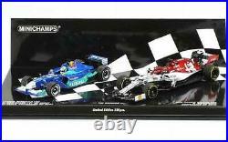 143rd Red Bull Sauber Petronas -Alfa Romeo Kimi Raikkonen 2 Car Set