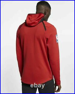 $150 NEW Nike Chicago Bulls Therma Flex Showtime Court Hoodie Jacket 940118 L