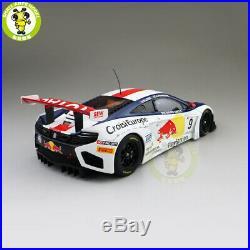 1/18 AUTOart 81342 MCLAREN 12C GT3 RED BULL No. 9 Supercar Diecast Model car