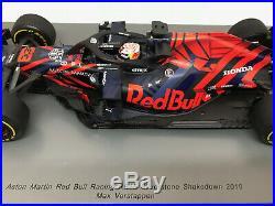 1/18 Aston Martin Red Bull RB15 Max Verstappen Test Silverstone'19 SPARK 18S459