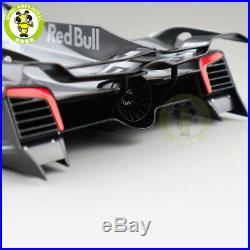 1/18 Autoart 18116 RED BULL X2014 FAN CAR DARK SILVER METALLIC Diecast model car