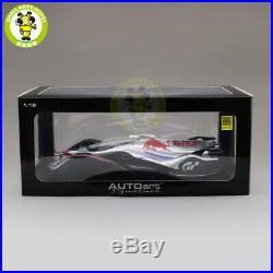 1/18 Autoart 18117 RED BULL X2014 FAN CAR HYPER SILVER Diecast model car KIDs