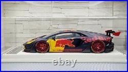 1/18 Davis & Giovanni Liberty Walk Lamborghini Aventador 2.0 Red Bull DG180132