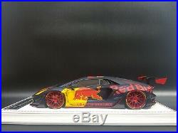 1/18 Davis & Giovanni Liberty Walk Lamborghini Aventador Red Bull