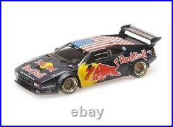 1/18 Minichamps BMW M1 E26 Racing Daytona Classic Red Bull #7 Quester Riccitelli