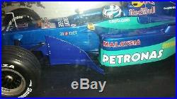 1/18 Sauber Petronas Red Bull C20 Kimi Raikkonen'Iceman' 2001 First Race
