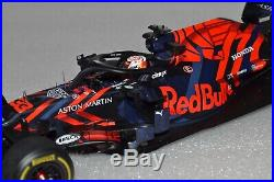 1/18 Spark Red Bull RB15 Honda Max Verstappen 2019 Silverstone Shakedown