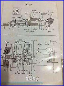 1/20 DTM Ejan Model Factory Hiro MFH Redbull Honda RB15 Grand Prix F1 Studio27