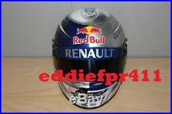 1/2 2012 Sebastian Vettel Vip Replica Arai Helmet Red Bull Racing Renault F1 Nib