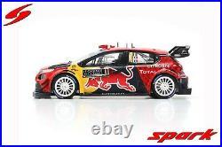1/43 Citroen C3 WRC Red Bull Total Winner Rally Monte Carlo 2019 S. Ogier