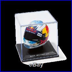 1/5 2017 Daniel Ricciardo Replica Mini Arai Helmet Red Bull Racing Carsale Spark