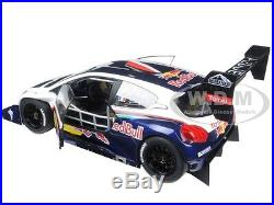 2013 Peugeot 208 T16 Pikes Peak Race Car Red Bull 1/18 Car By Autoart 81354