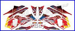 2016-2017 Honda Grom & MSX125 Red Bull Decals Sticker Graphics (Muliple Colors)