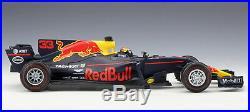 2017 Bburago 118 F1 Red Bull Racing RB13 #33 Max Verstappen Diecast Model New