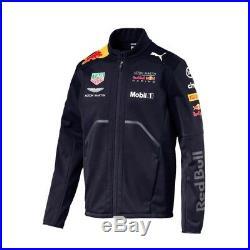 2018 Red Bull Racing F1 Team Mens Teamline Softshell Jacket size L