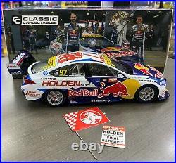 2020 Bathurst Winner #97 Van Gisbergen Tander Holden Red Bull 118 Model Car