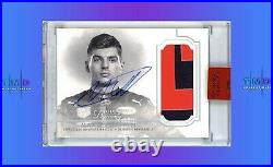 2020 Topps Formula 1 Dynasty MAX VERSTAPPEN AUTO PATCH 7/10 Red Bull Racing F1