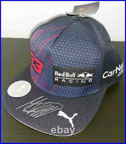 2021 F1 Max Verstappen signed Red Bull Honda hat cap French GP Formula 1