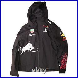 2021 Red Bull Racing F1 Formula 1 Team Rain Jacket Navy Puma Mens XL