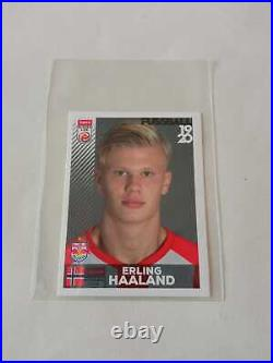 #32 Erling Haaland 2019 Panini Fussball Bundesliga Rookie Sticker Salzburg 10/10