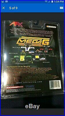 AFX MEGA G TOMY NEW 9067 RED BULL 21 JANi F1 iNDY NiP MiP MOC RACEMASTERS A/FX