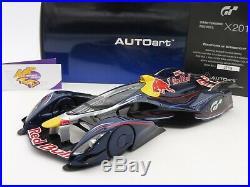 AUTOart 18118 # Gran Turismo Red Bull X2014 blau Sebastian Vettel 118 TOP