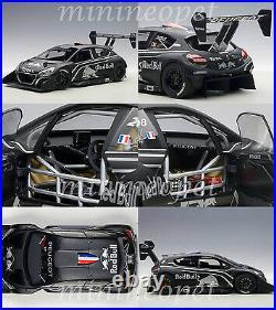 AUTOart 81353 PEUGEOT 208 T16 PIKES PEAK PRESENTATION 1/18 MODEL CAR BLACK