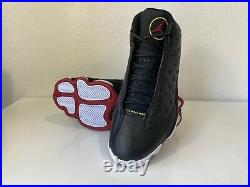 Air Jordan 13 XIII Black Red White Playoffs Retro 2011 Bulls DS Size 10.5