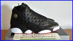 Air Jordan 13 XIII Black Red White Playoffs Retro 2011 Bulls DS Size 9.5