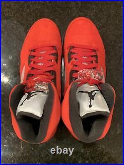 Air Jordan 5 Retro Raging Bull 2021 DD0587-600 Size 11