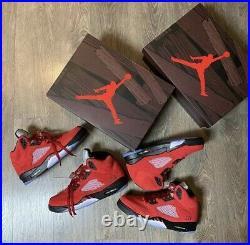 Air Jordan 5 Retro Raging Bull Any Size