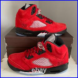 Air Jordan 5 Retro Raging Bull Toro 2021 Men DD0587-600 GS 440888-600 Red