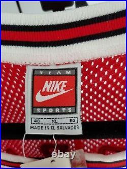 Authentic Nike 1997-98 Chicago Bulls Michael Jordan Red Jersey Size 48 XL Rare