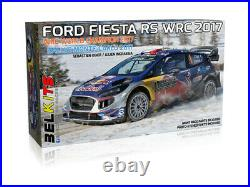 BELKITS 1/24 CARS FORD FIESTA WRC 17 RED BULL rally car model kit