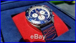 BNIB Tag Heuer Red Bull Racing Special Edition 1/10 sec chronograph 43mm CAZ1018