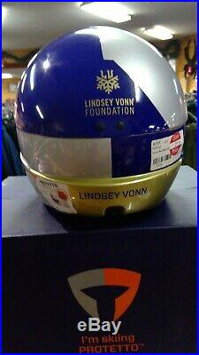 BRIKO Lindsey Vonn / Red Bull Race Helmet -size 60 114767