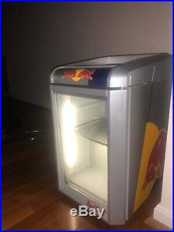 Baby eco led red bull mini fridge