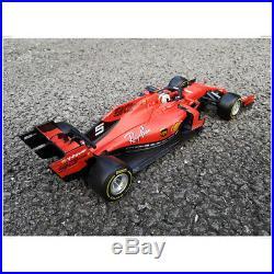 Bburago 118 Ferrari SF90 Formula 1 #5 S. Vettel + #16 Racing Car DIECAST MODEL