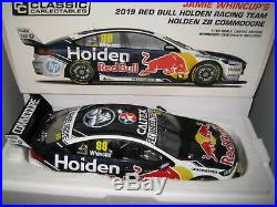 Biante 1/18 V8 Supercars 2019 Holden Zb Commodore Red Bull J Whincup #88 #18694