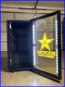 Brand New Idw Rockstar Energy Drink Fridge Cooler Refrigerator Red Bull Monster