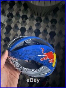 Brand New Oakley Helmet Red Bull Road Bike MTB Size M 52-58cm