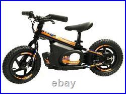 CROSSY E-Balance Bike Kinder Laufrad 12 INCH Orange Kids 24V Red Bull KTM Stacyc