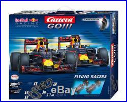 Carrera 62426 Go! FLYING RACERS RED BULL Verstappen vs Ricciardo Slot Car Set