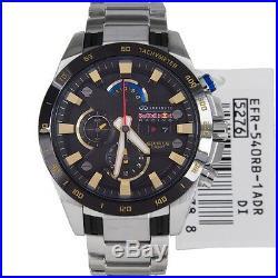 Casio EFR-540RB-1A Mens Edifice Red Bull Black Silver Watch