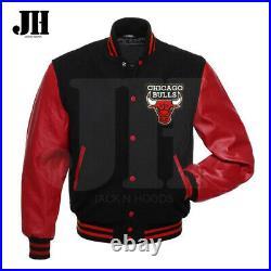 Chicago Bulls Lettermen Jacket Chicago Bulls Varsity Jacket All sizes